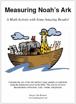 Measuring Noah's Ark