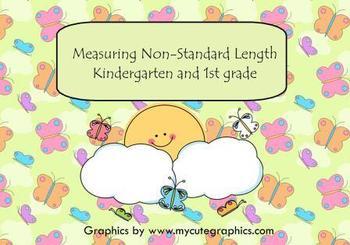 Measuring Non Standard Length Smart Board Lesson
