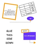 Measuring Notes Foldable