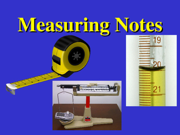 Measuring Notes using the Metric System