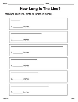 Measuring Objects (CCSS 2.MD.A.1)