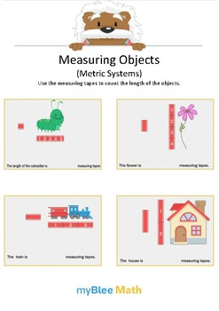 Measuring Objects (Metric System) 1 - Use the measuring tape - Gr 1