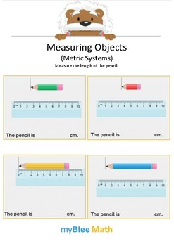 Measuring Objects Metric System 4 - Measure the length - Gr 2