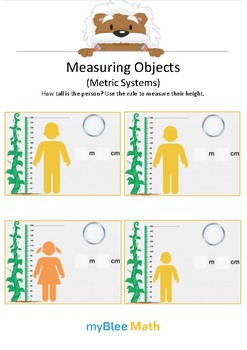 Measuring Objects Metric System 6 - How tall? - Gr 2