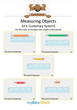 Measuring Objects US 4 - Measure the length - Gr 2