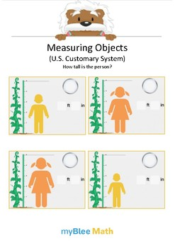 Measuring Objects US 6 - How tall? - Gr 2