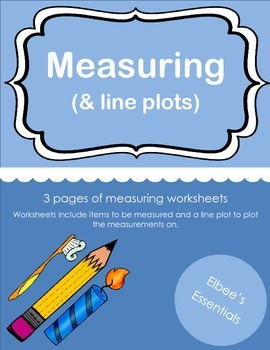 Measuring Objects (and plotting on a line plot)
