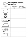 Measuring Objects with Cubes and Paper Clips