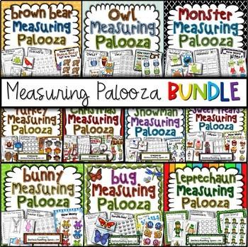 Measuring Palooza BUNDLE --- Measuring Math Centers For Th