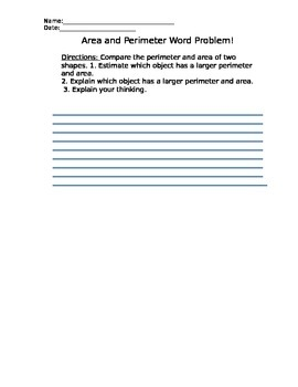 Measuring Perimeter and Calculating Area in Your Classroom- lesson plan included