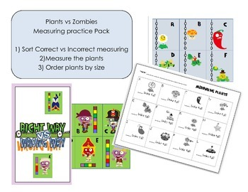 Measuring Plants vs Zombies Pack
