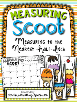 Summer Measuring SCOOT --- Standard Measurement to the Nearest Half-Inch