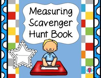 Measuring Scavenger Hunt Book