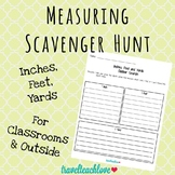 Measuring Scavenger Hunt Using Inches, Feet and Yards