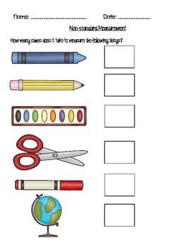 Measuring School Supplies
