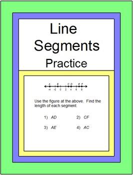 Line Segments - Measuring Segments Practice and RELAY RACE