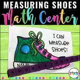 Measuring Shoes Kindergarten 1st Grade Math Workshop Investigation Math Centers