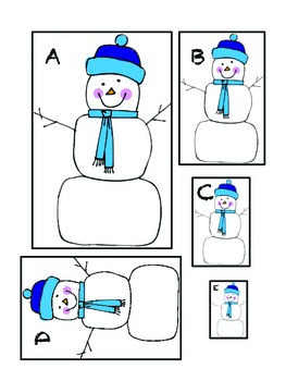 Measuring Snowmen Short & Tall