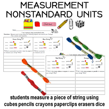 Nonstandard Measurement using String