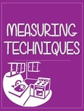 Measuring Techniques Printable - Home Ec and Food Studies