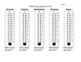 Measuring Temperature - Weather Unit