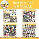 Measuring Time Clip Art  Bundle