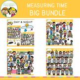 Measuring Time Math Clip Art Bundle