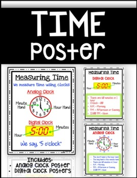 Measuring Time Poster