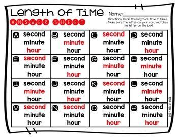 Measuring Time: Second, Minute, and Hour