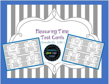 Measuring Time Task Cards