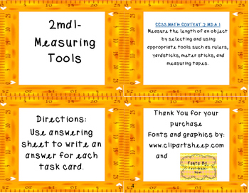 Measuring Tools CCSS. Math.Content.2.MD.A.1
