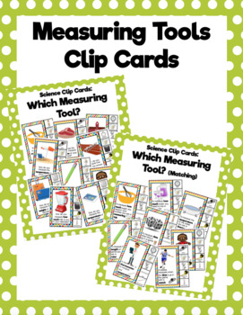 Measuring Tools Clip Cards