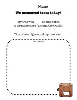 Measuring Tree Circumference Sheet