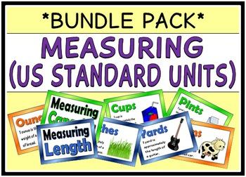 Measuring - US Standard Units (BUNDLE PACK)