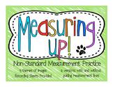 Measuring Up! {Non-Standard Measurement}