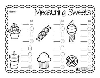 Measuring Up! {Non-Standard Measurement}