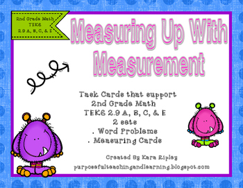 Measuring Up With Measurement { 2nd Grade Math TEKS 2.9 A,