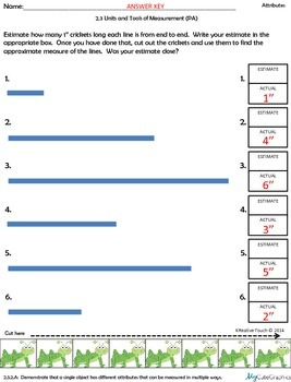 Measuring Using Non-Standard Units