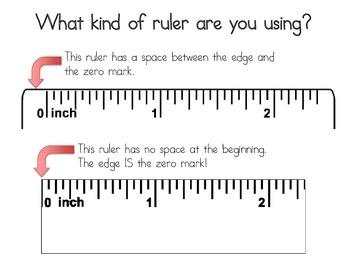 Measuring Using Rulers