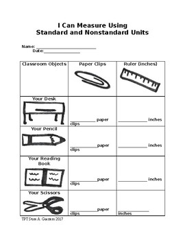 Measuring Using Standard and Nonstandard Units