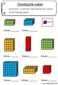 Measuring Volume – 10+ printables (Measurement & Data)