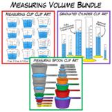 Measuring Volume Clip Art Bundle