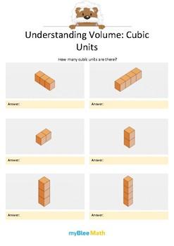 Measuring Volume & Mass: Understanding Volume 1 – Cubic Units 1