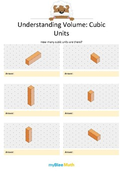 Measuring Volume & Mass: Understanding Volume 1 – Cubic Units 2