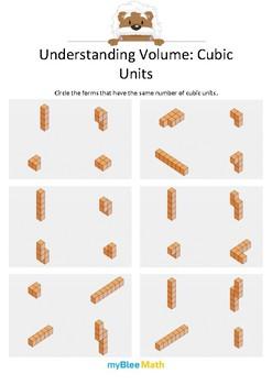 Measuring Volume & Mass: Understanding Volume 1 – Cubic Units 5
