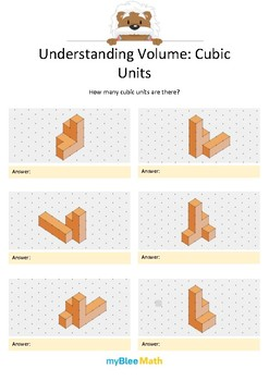 Measuring Volume & Mass: Understanding Volume 2 – Cubic Units 2