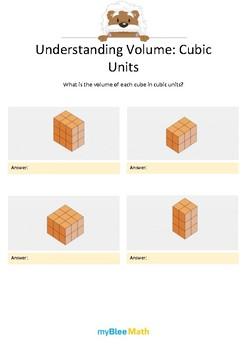 Measuring Volume & Mass: Understanding Volume 2 – Cubic Units 3