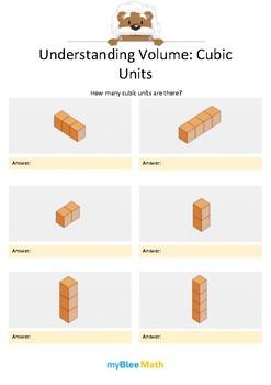Measuring Volume & Mass: Understanding Volume - Cubic Units 1 – 5th Grade