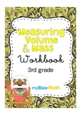 Measuring Volume & Mass Workbook – 3rd Grade