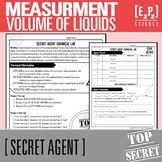 Measuring Volume- Secret Agent Activity